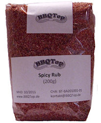 Barbecue Gewürze - Spicy Rub